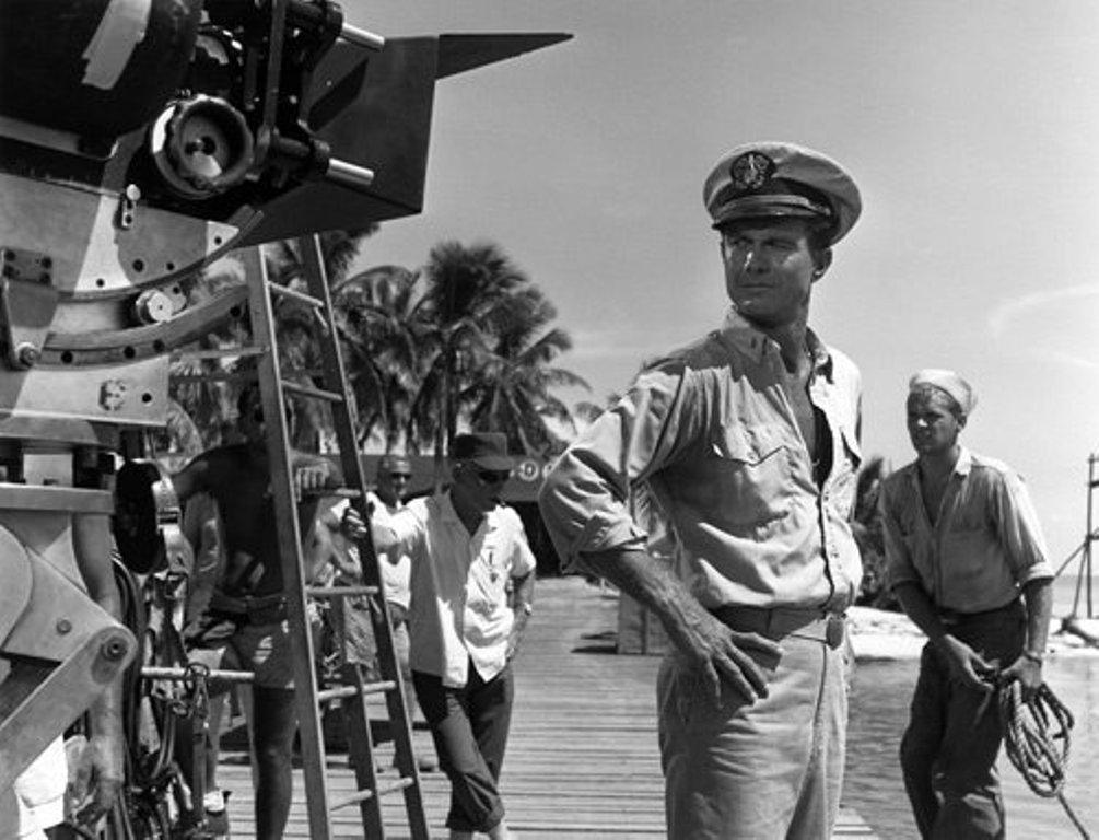 Cliff Robertson als de jonge JFK in PT 109. (foto: Warner Brothers)