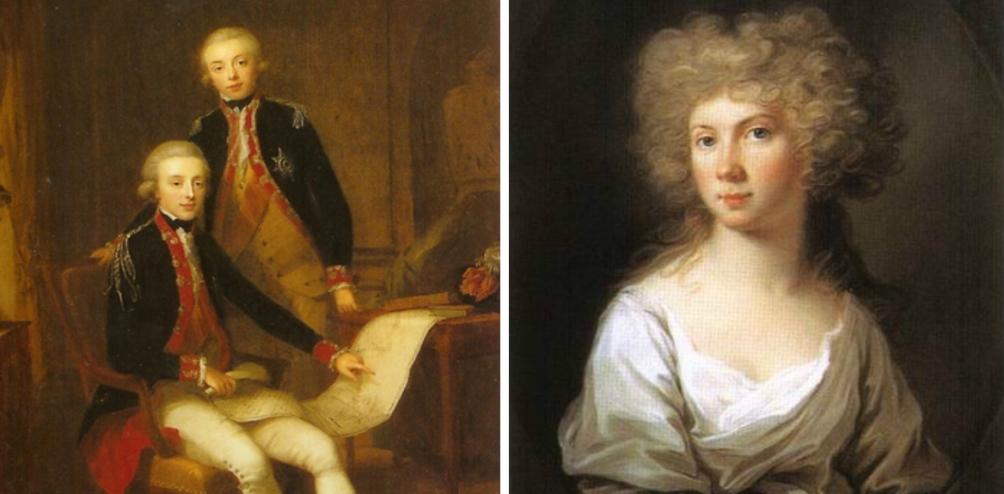 Wilhelmina van Pruissen rond 1795 werd ook wel Mimi genoemd, was de echtgenote van koning Willem I.  (foto: Wikimedia)