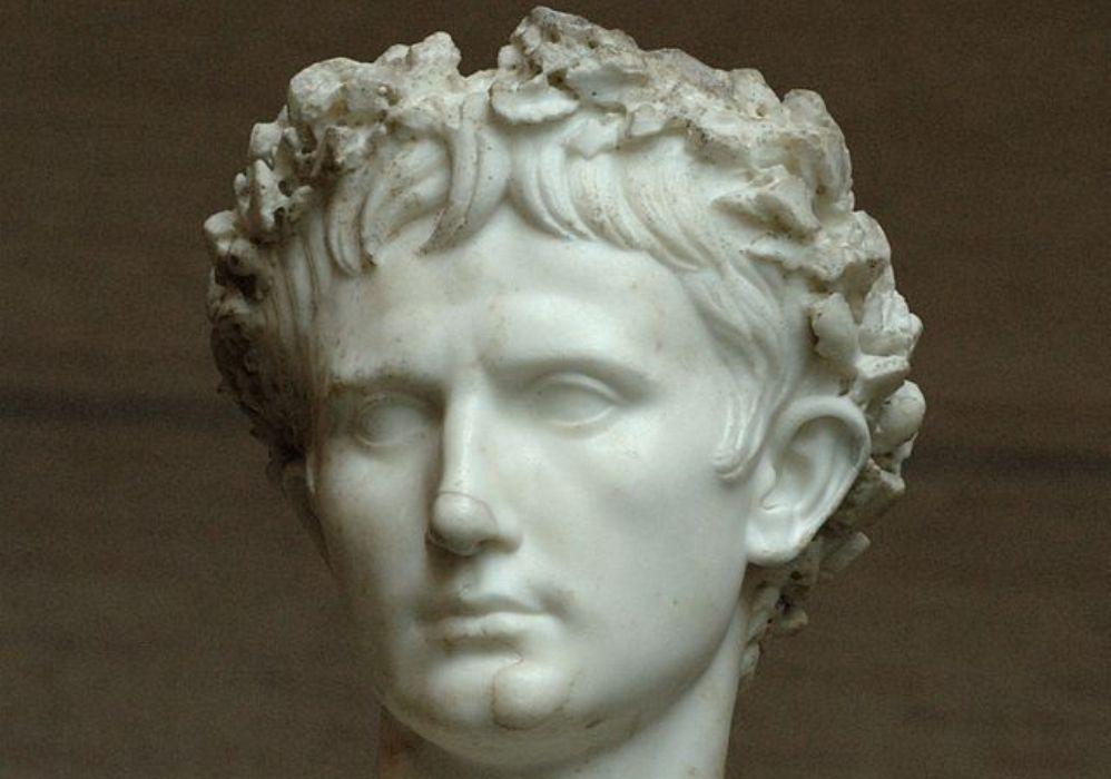 "Foto: buste van keizer Augustus (zogenaamde""Augustus Bevilacqua""-buste). (foto: Wikimedia)"