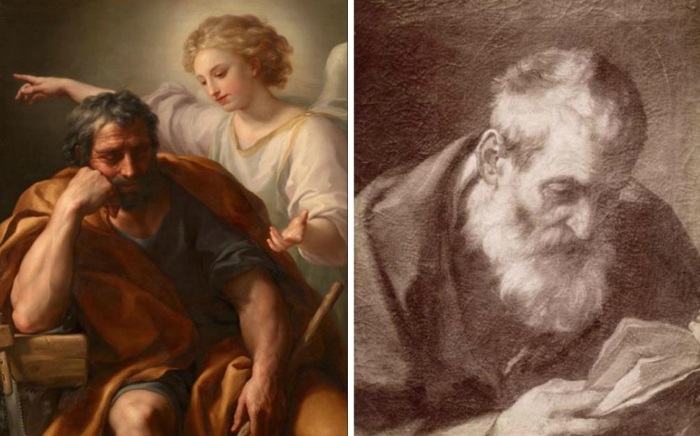 Sint Jozef door Guido Reni - Brera (foto: Wikimedia)