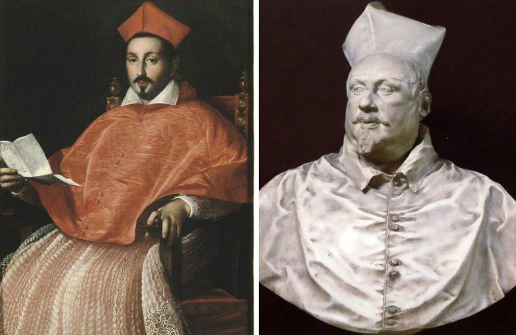 Scipione Borghese Bernini Portret Van Scipione Borghese