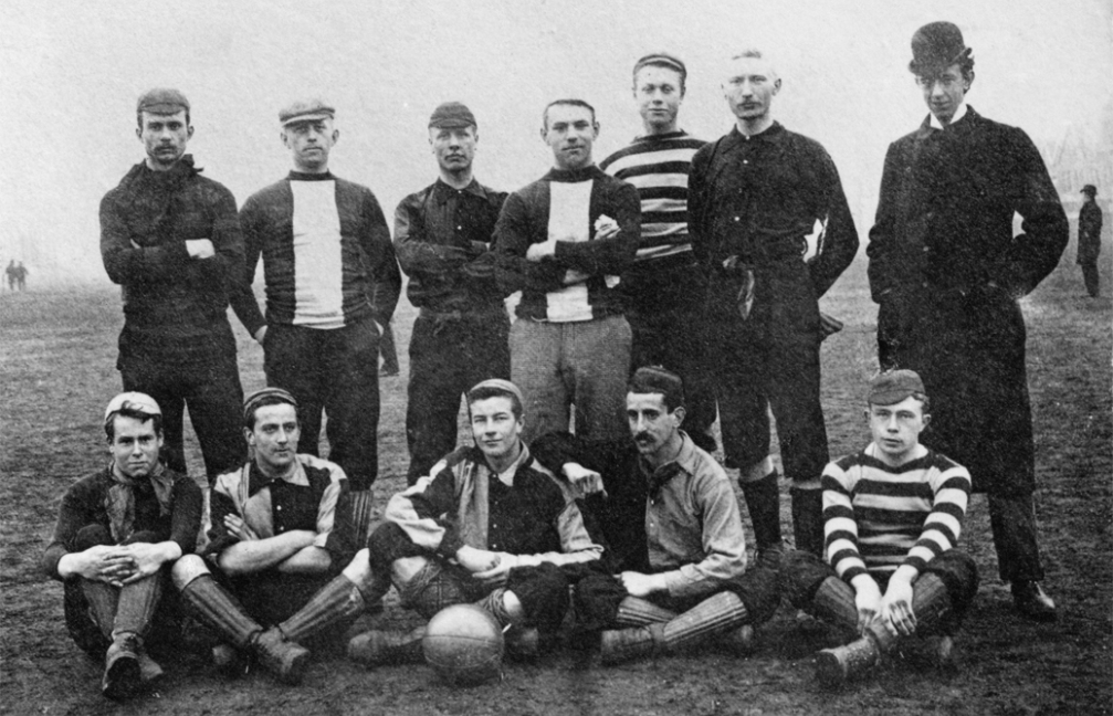 Nederlands elftal in 1894.