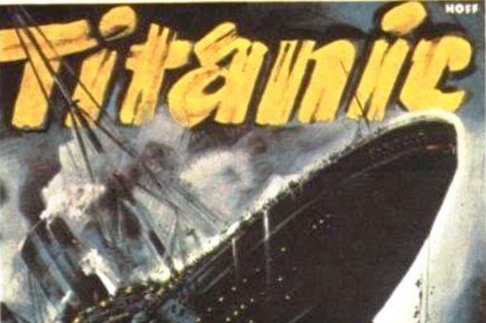 De Titanic die zonk in 1943 - poster uitgelicht