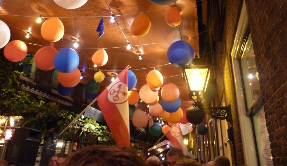 Feest in Leiden