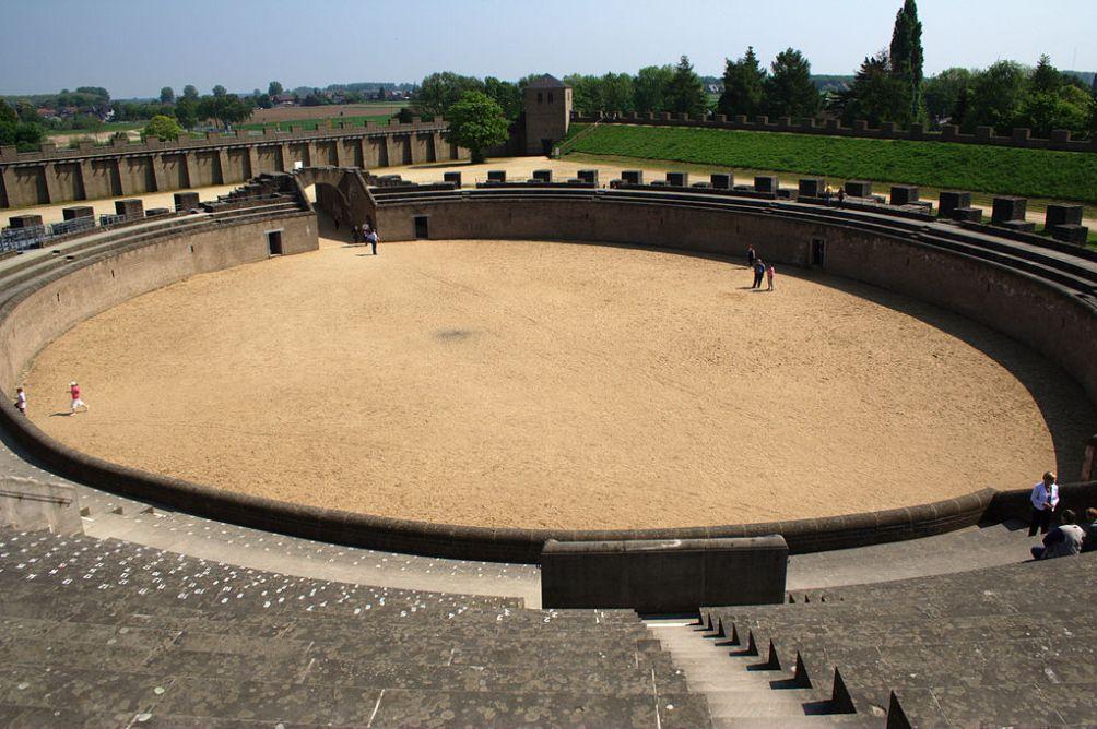 Het amfitheater van Xanten