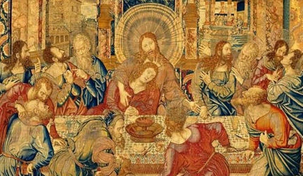 Het laatste avondmaal door Bernard van Orley, ca. 1520-1530
