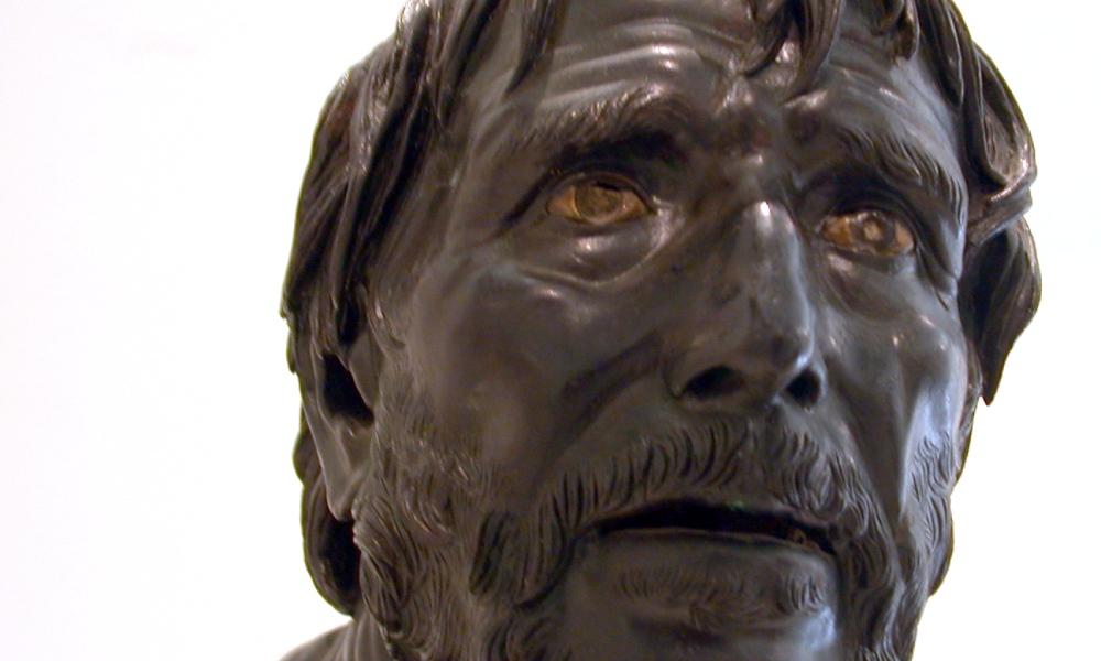 Een buste van de stoïsche filosoof en tragedieschrijver Seneca. (Foto: Wikimedia)
