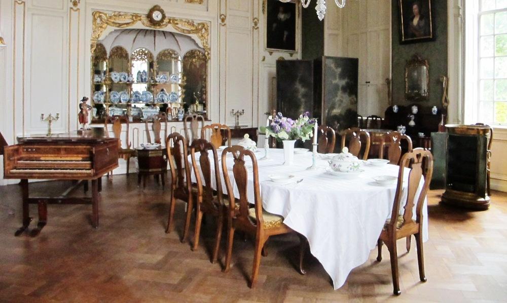 Weelde en monumentaliteit in kasteel amerongen geschiedenis beleven - Foto eetkamer ...