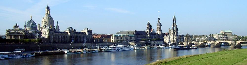 Zicht op Dresden