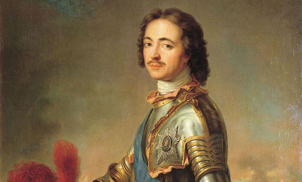 Tsaar Peter de Grote (1672-1725) (foto: wikimedia)