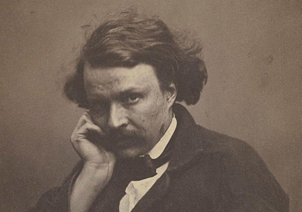 Een indringende selfie van Félix Nadar, genomen in de jaren 1860 (foto: Wikimedia).