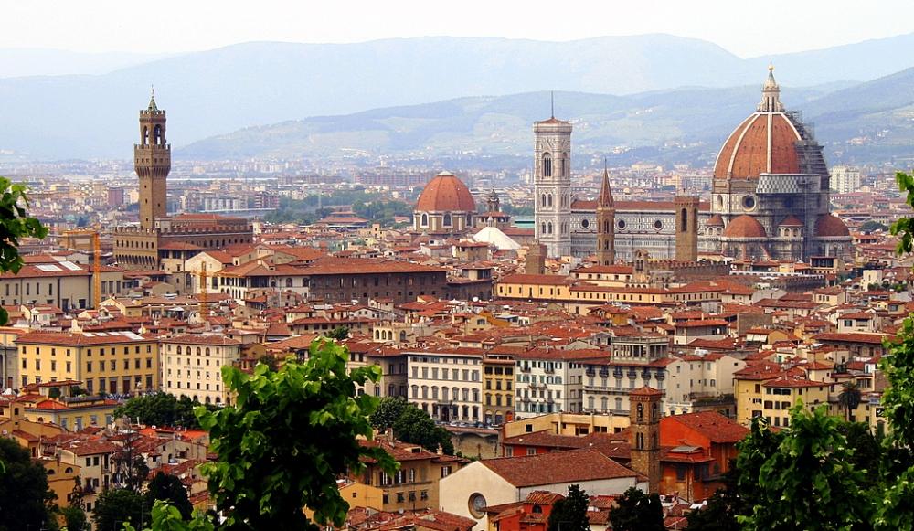 Cosimo de Medici - Skyline van Florence