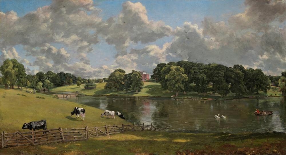 Wivenhoe Park in Essex. Een werk van John Constable uit 1816.