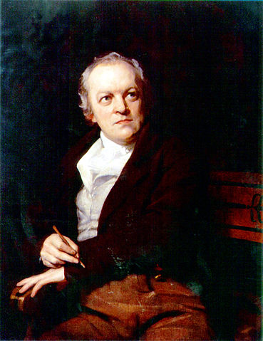 Portret van de dichter William Blake.