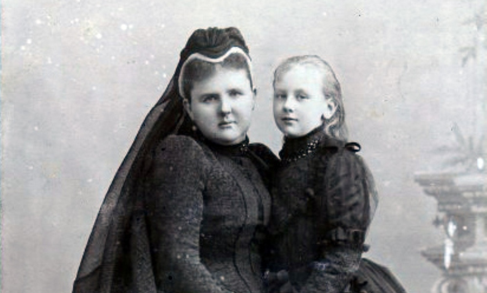 Willem III - Emma in rouw