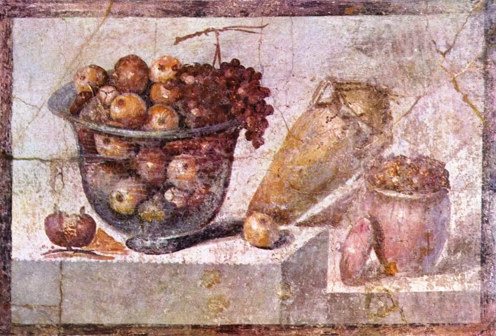 Muurschildering uit het Huis van Julia Felix in Pompeii.