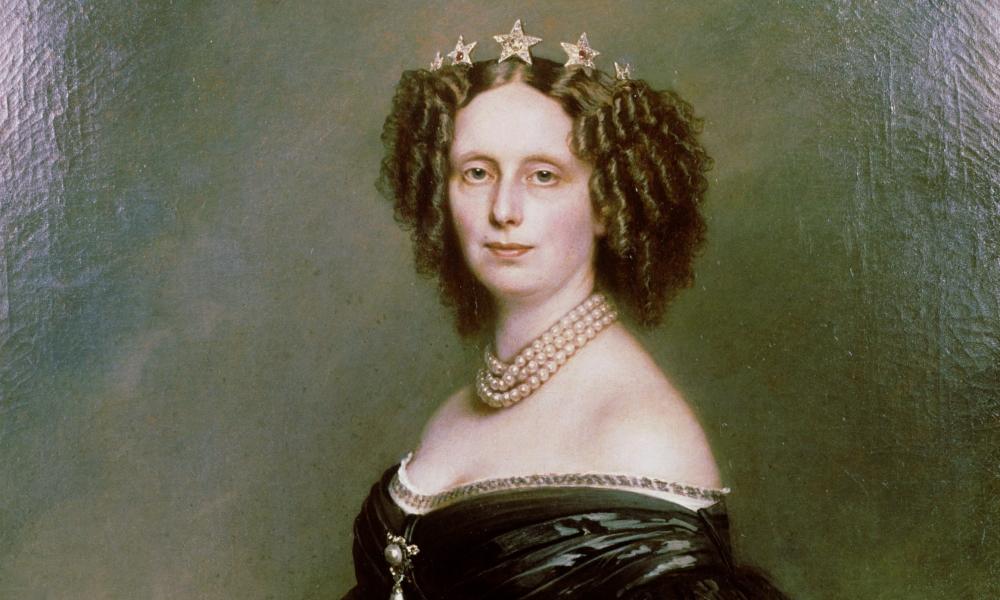 portret van Sophie van Württemberg, koningin der Nederlanden van 1849 tot 1877