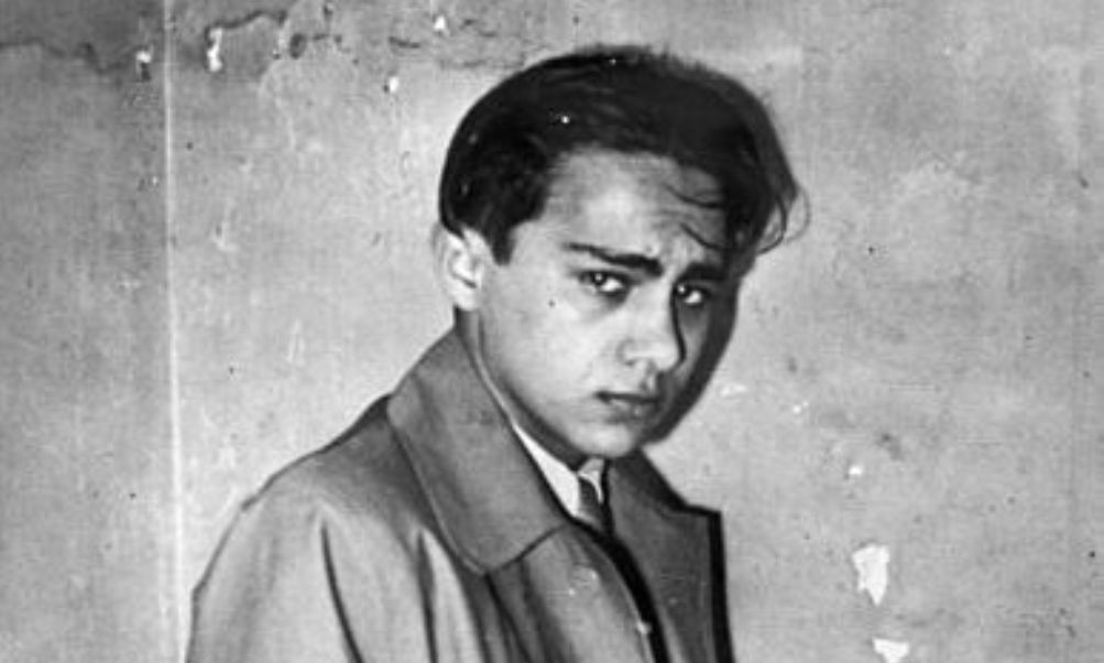 Herschel Grynszpan na zijn arrestatie in Parijs op 7 november 1938 (foto: Wikimedia)