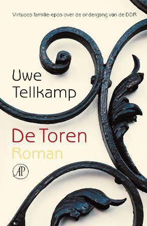 Omslag van 'De Toren' van Uwe Tellkamp (foto: Uitgeverij de Arbeiderspers)
