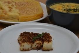 Vis en cheesecake uit de Romeine keuken