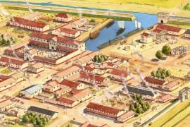 Een rondleiding door Forum Hadriani