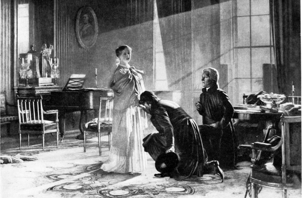 20 juli 1837. Victoria krijgt het nieuws te horen dat zij zojuist koningin geworden is.