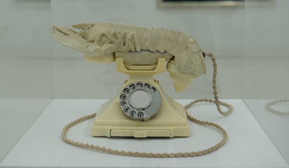 Kreeftentelefoon van Dali (foto:Flickr)