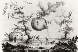 17e-eeuwse scifi: maanreizen en zonexcursies