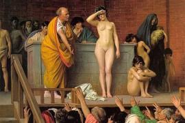 De herkomst van het woord slaaf