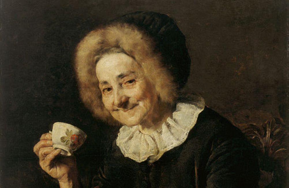 Foto: koffiedrinker, Ivana Kobilca (1861–1926)