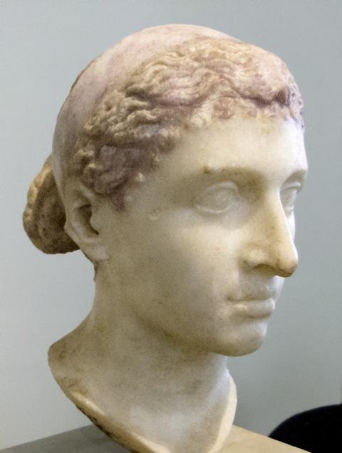 Buste van Cleopatra, Altes Museum, Berlijn (foto: Wikimedia)