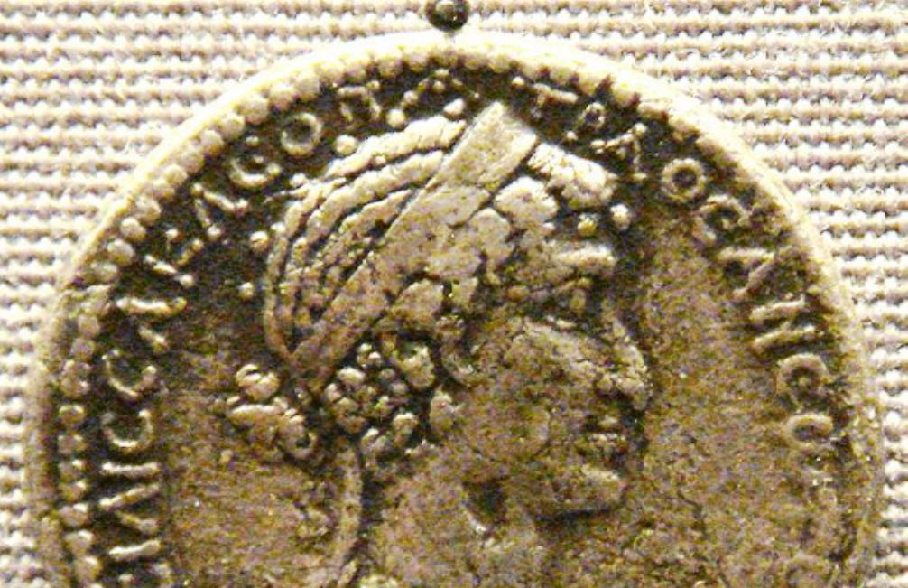 Tetradrachme uit Syrië met afbeelding van Cleopatra (foto: Wikimedia)