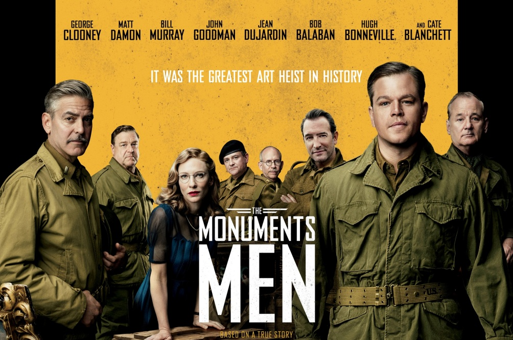 Poster van de film The Monuments Men