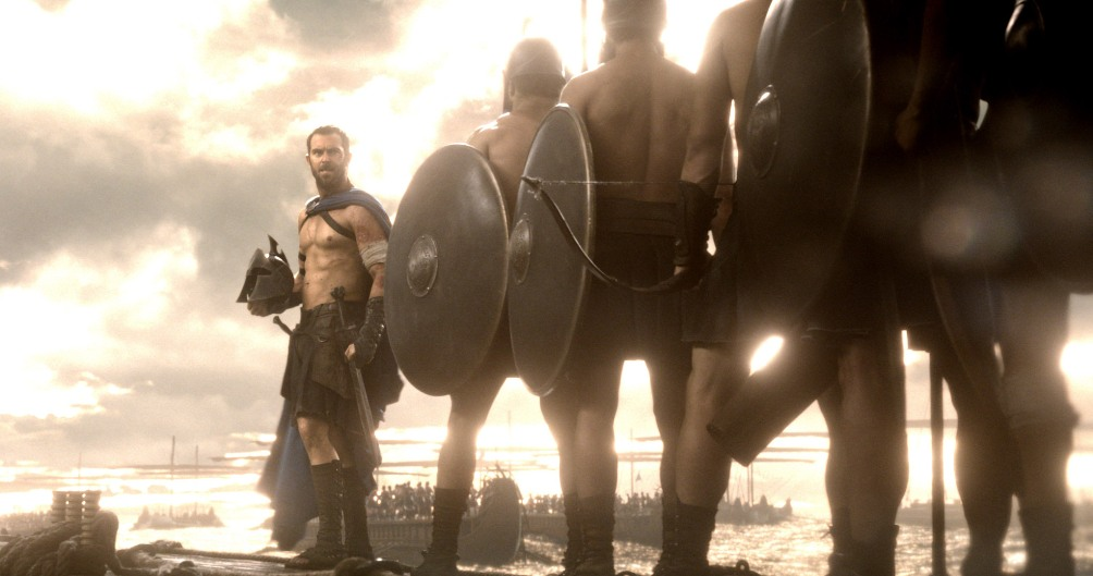 Filmstill uit 300: Rise of an Empire. Bron: Filmdepot.