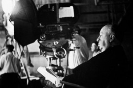 Alfred Hitchcock in close-up
