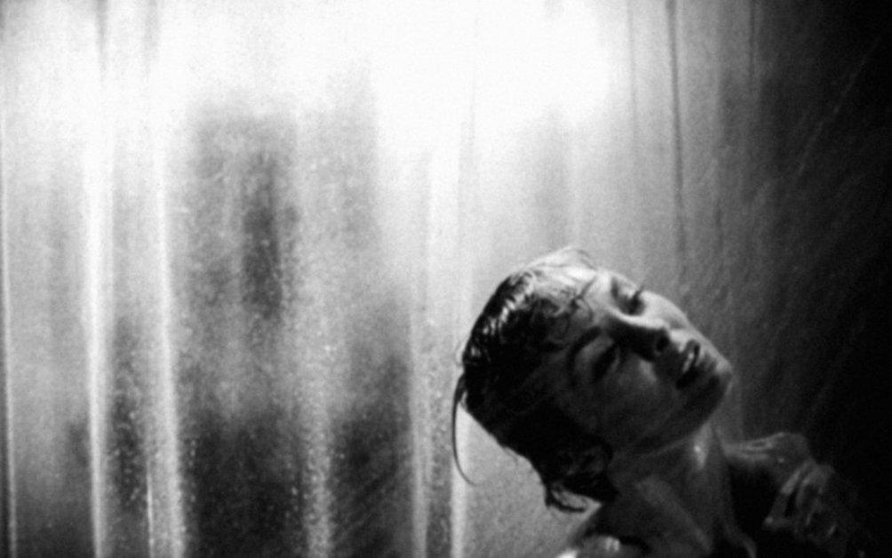 De beroemde 'douche scène' in Psycho (1960)