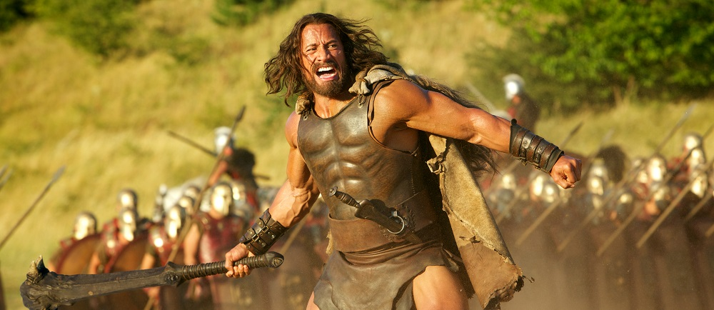 Dwayne Johnson in Hercules 3D. Bron: Filmdepot.