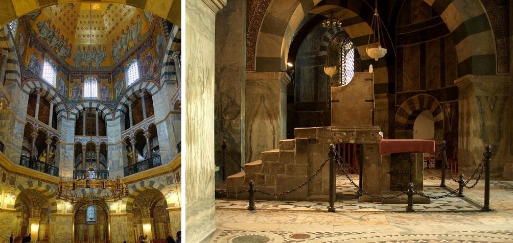 14.08.19.Karel de Grote - kapel met troon