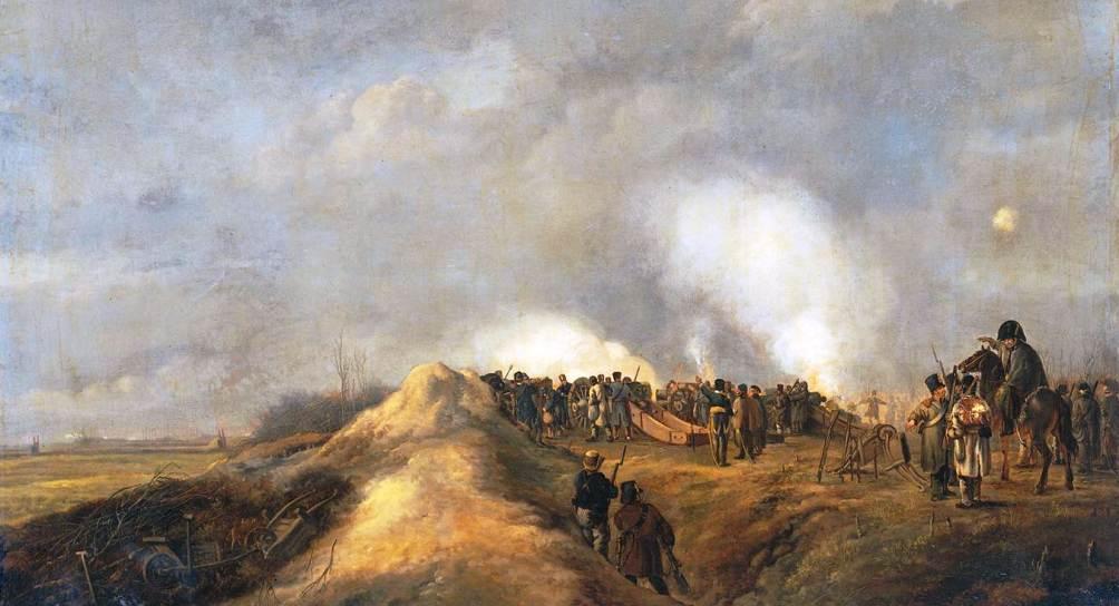 14.08.27.Fransen in Naarden - kanonnen Naarden