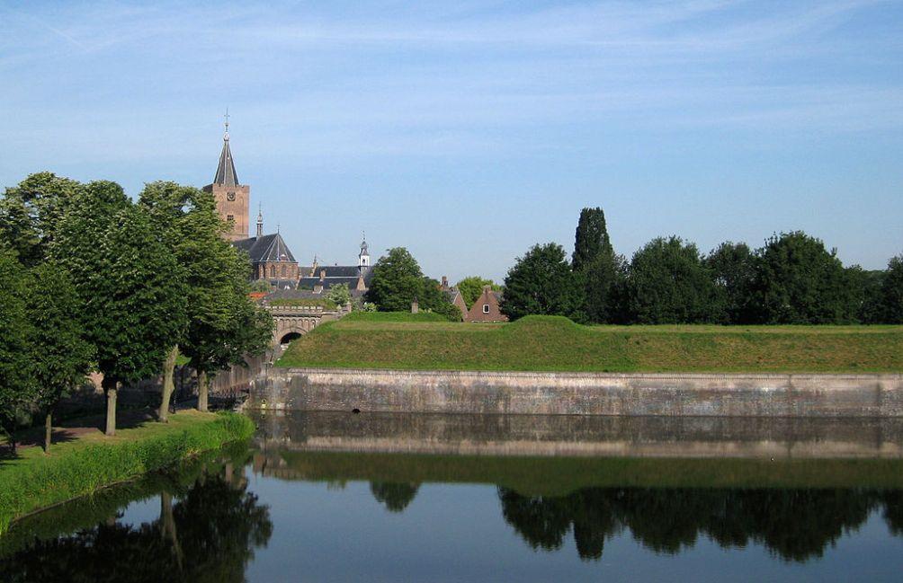 De vesting van Naarden (foto: Wikimedia)
