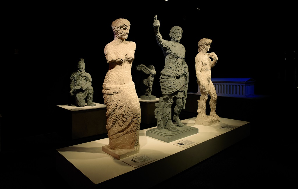 Tentoonstelling The Art of Brick (foto: Amsterdam EXPO)