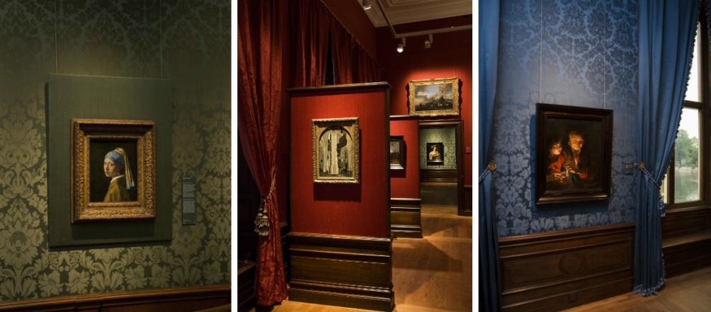 14.08.Mauritshuis heropend - gekleurde wanden