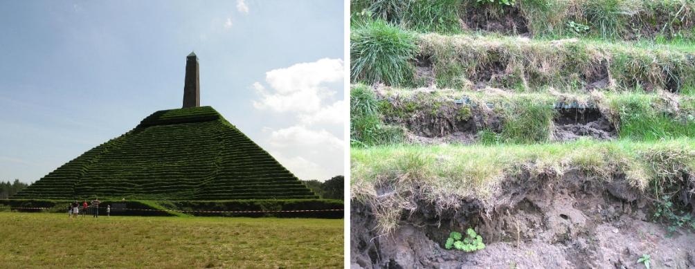 14.10.08.Pyramide van Austerlitz - regenschade