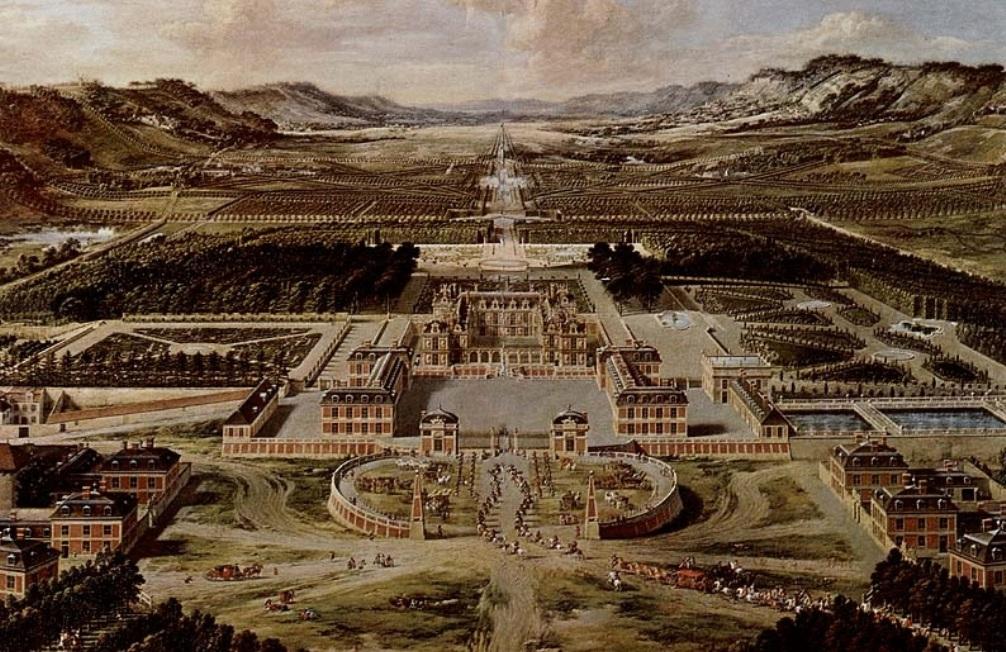 14.9.13 de bouw van Versailles