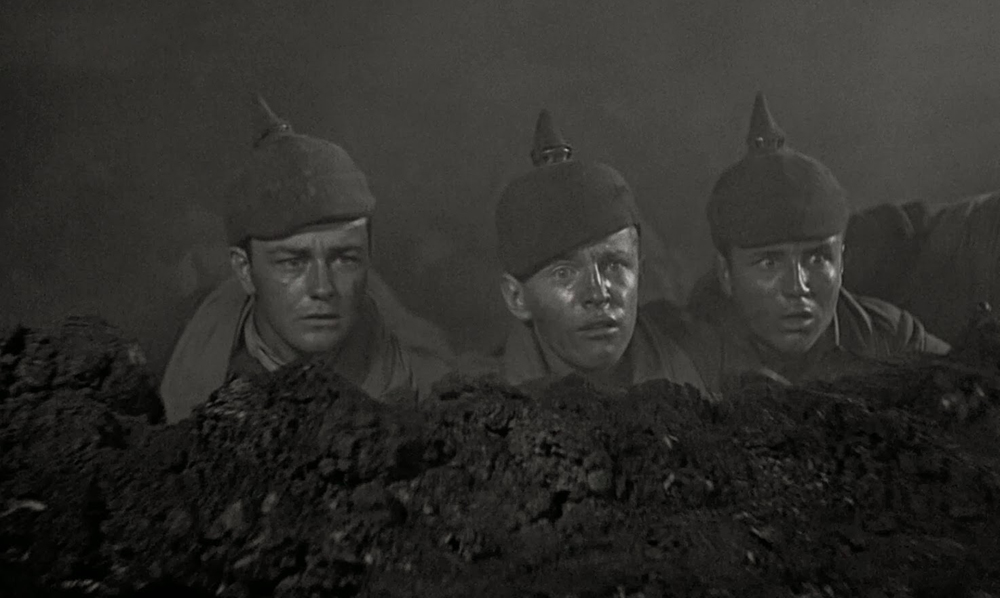 Beeld uit All Quiet on the Western Front (1930).
