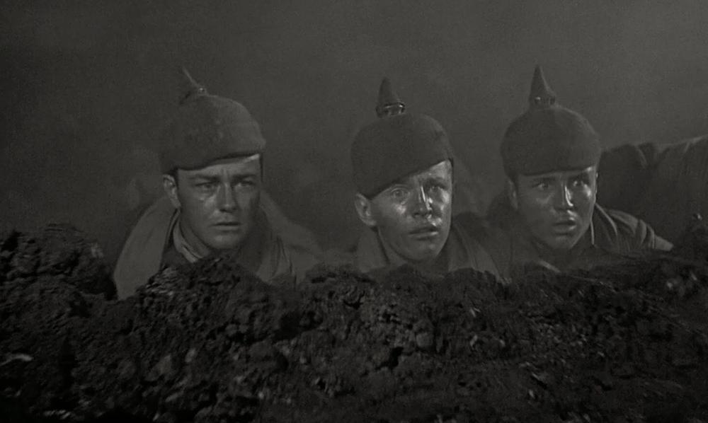 Beeld uit All Quiet on the Western Front (1930).