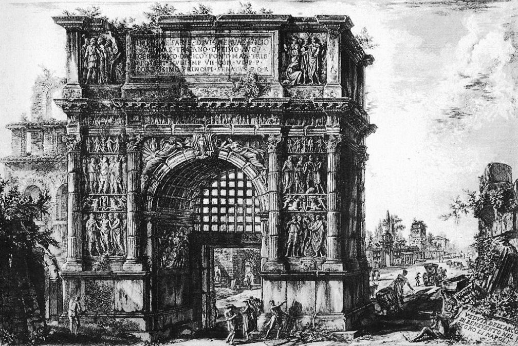 Piranesi Rome - Boog van Trajanus