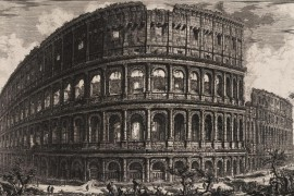 Stadsgezichten van Rome in de 18e eeuw
