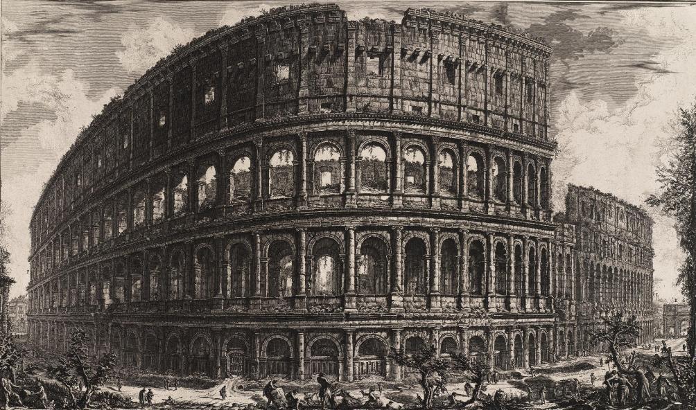 Piranesi Rome - Colosseum