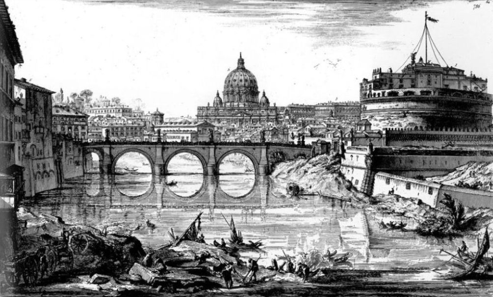 Piranesi Rome - Engelenburcht